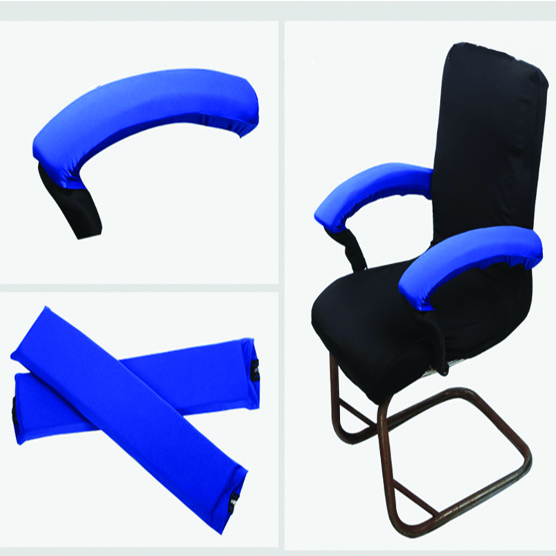 2pcs Office Chair Armrest Covers Removable Arm Rest Stretch Protector Cover