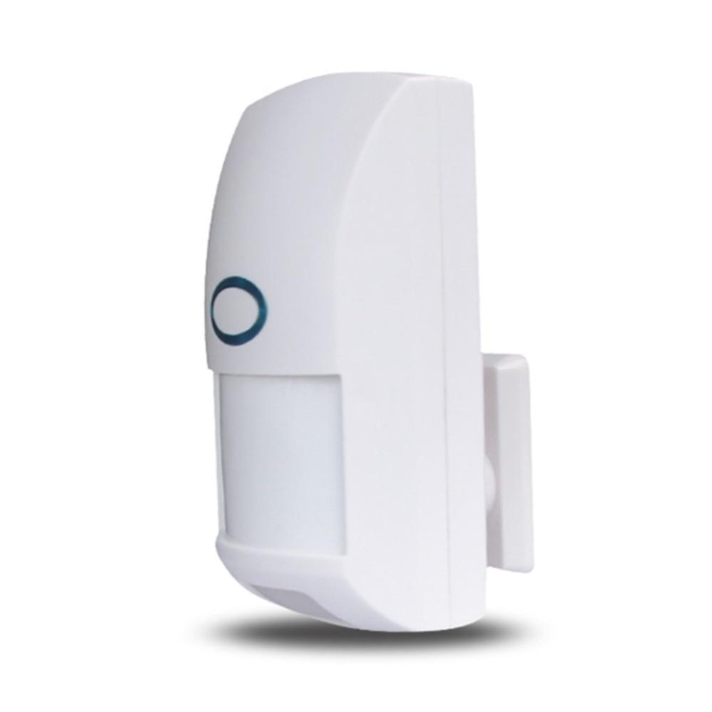 Mini Portatile Senza Fili 433 mhz Sicurezza Domestica Pet Immune Motion Sensore PIR Dual Rilevatore A Infrarossi Per Sistema di AllarmeMini Portatile Senza Fili 433 mhz Sicurezza Domestica Pet Immune Motion Sensore PIR Dual Rilevatore A Infrarossi Per Sistema di Allarme