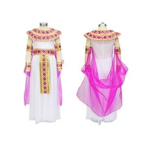 Image 5 - Halloween  Arabian Egypt Princess Dress Girl Cute Queen Dress Cosplay Carnival Party Beautiful Kids Children Cosplay Costume