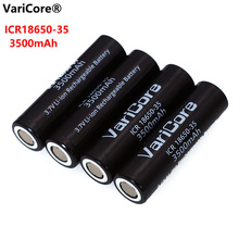 1-6pcs VariCore New Original ICR 18650-35 3500mAh Rechargeable Battery 3.7V High capacity For Flashlight ues