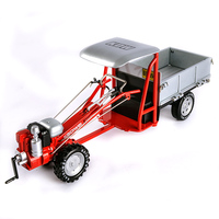 Simulation agricultural tractor model car model alloy simulation farm car engineering car children toy car W108