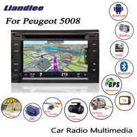 Liandlee For Peugeot 5008 2012~2013 Android Car Radio CD DVD Player GPS Navi Navigation Maps Camera OBD TV HD Screen BT Media