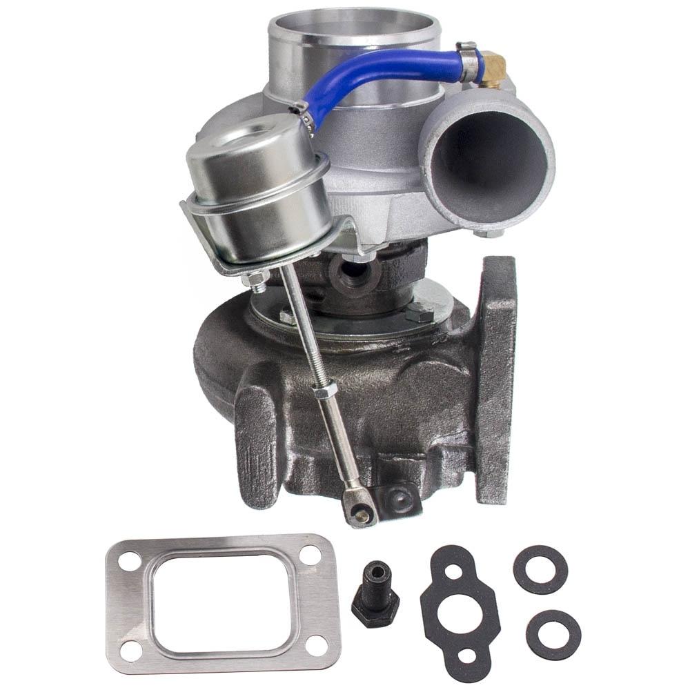GT2871 T25 4-болт для NISSAN SR/CA S13/S14 240SX 5-Болт Фланец турбонагнетатель gt28 Com/R .60 турбины/R .64 T25 T28 воды и масла