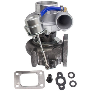 Image 1 - GT2871 T25 4 BOLT FOR NISSAN SR/CA S13/S14 240SX 5 BOLT FLANGE TURBO CHARGER gt28 Com A/R .60 turbine A/R .64 T25 T28 oil water