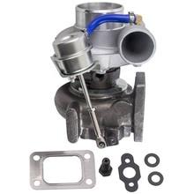 GT2871 T25 4 볼트 닛산 SR/CA S13/S14 240SX 5 볼트 플랜지 터보 차저 gt28 Com A/R .60 터빈 A/R .64 T25 T28 오일 워터
