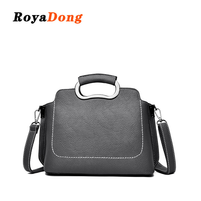 cd87aa394d Roya Dong 2019 New Handbag Lady Pu Leather Women Messenger bags Fashion  Shoulder Bag Female Star Crossbody Flap Design Bags