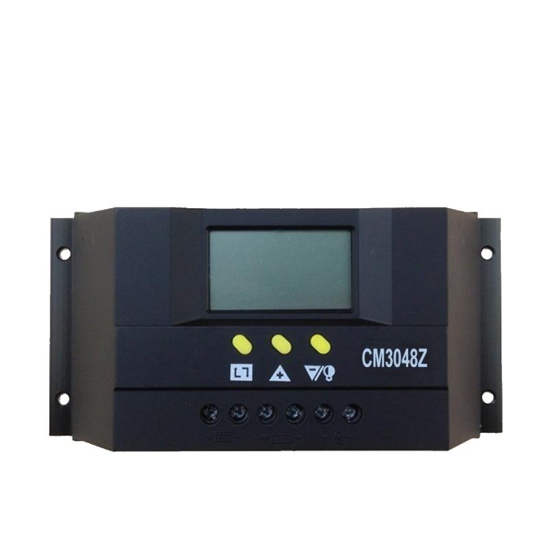 Tumo-Int 30/40/50/60 Amp PWM Smart Solar Controller, 48V Input with LCD DisplayTumo-Int 30/40/50/60 Amp PWM Smart Solar Controller, 48V Input with LCD Display