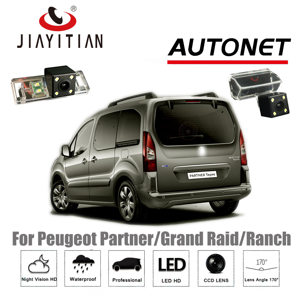 Jiayitian Rear Camera For Peugeot Partner Tepee Grand Raid Ranch Wiring Diagram Berlingo 2 Backup Ccd Night Vision License Plate In Vehicle From