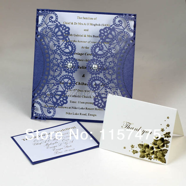 Hi3003l Big Size Customized Laser Cut Wedding Invitation Cards Made In China