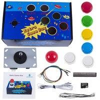 SunFounder Raspberry Pi Retro Game Box DIY Arcade Fighting Joystick Push Buttons Controller For RetroPie Raspberry