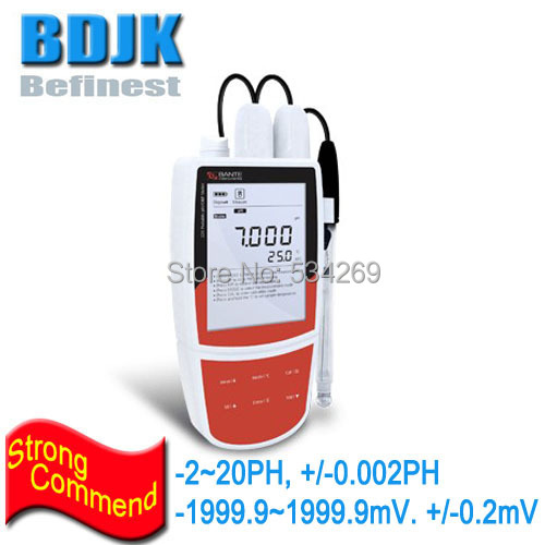 -2~20ph Portable Digital PH Meters with ATC and mV Measuring for Waste Water and Outdoor Testing Free Shipping купить