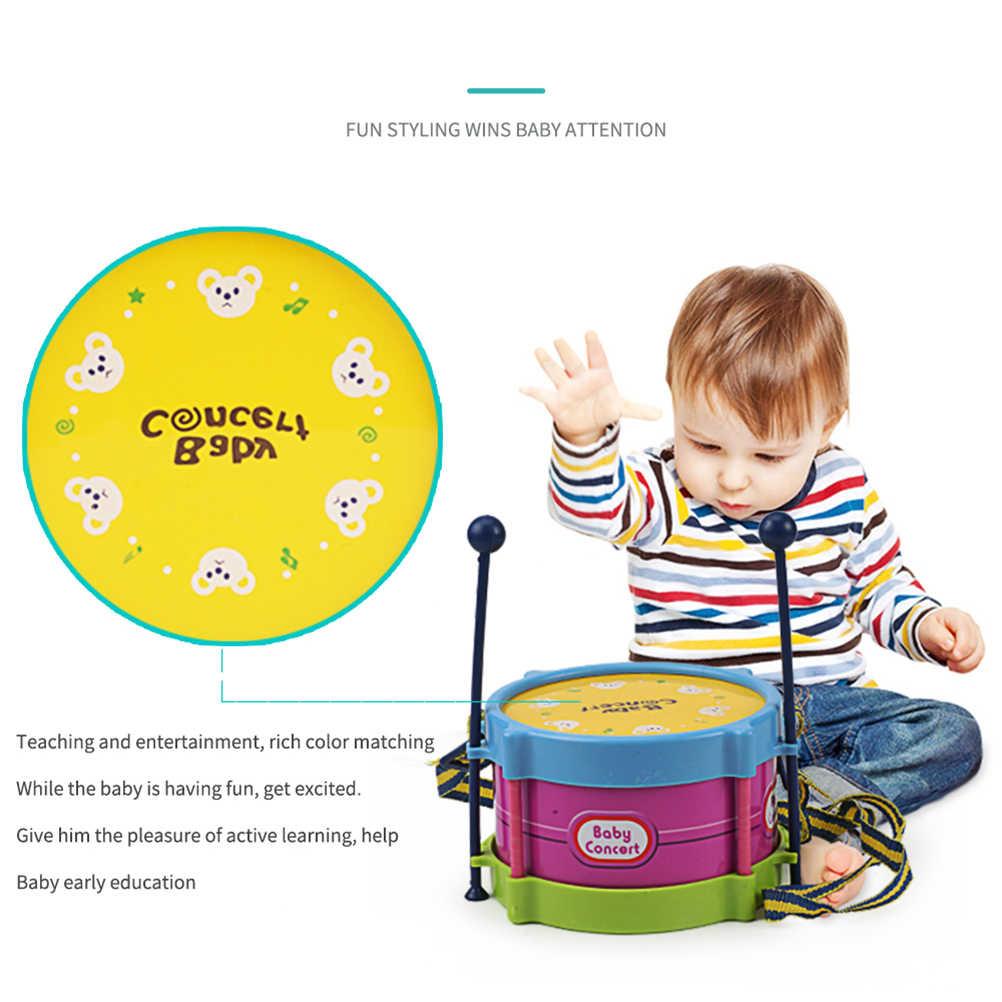 5 pcs מוסיקלי צעצוע סט אחיזת תינוק יד פעמון מוסיקה צעצוע תופי כלי נגינה בנד ערכות חינוכיים צעצוע עבור ילדי מתנה