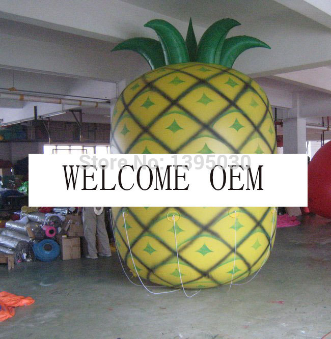 1PC 3M Height Inflatable Pineapple Balloon For Your Advertisement/ Mango ,Strawberry, Cherry Balloon Are Available