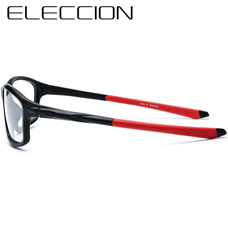 ELECCION estilo de deportes al aire libre marcos de miopía hombres gafas de prescripción óptica anteojos masculinos anteojos para andar en bicicleta 17205