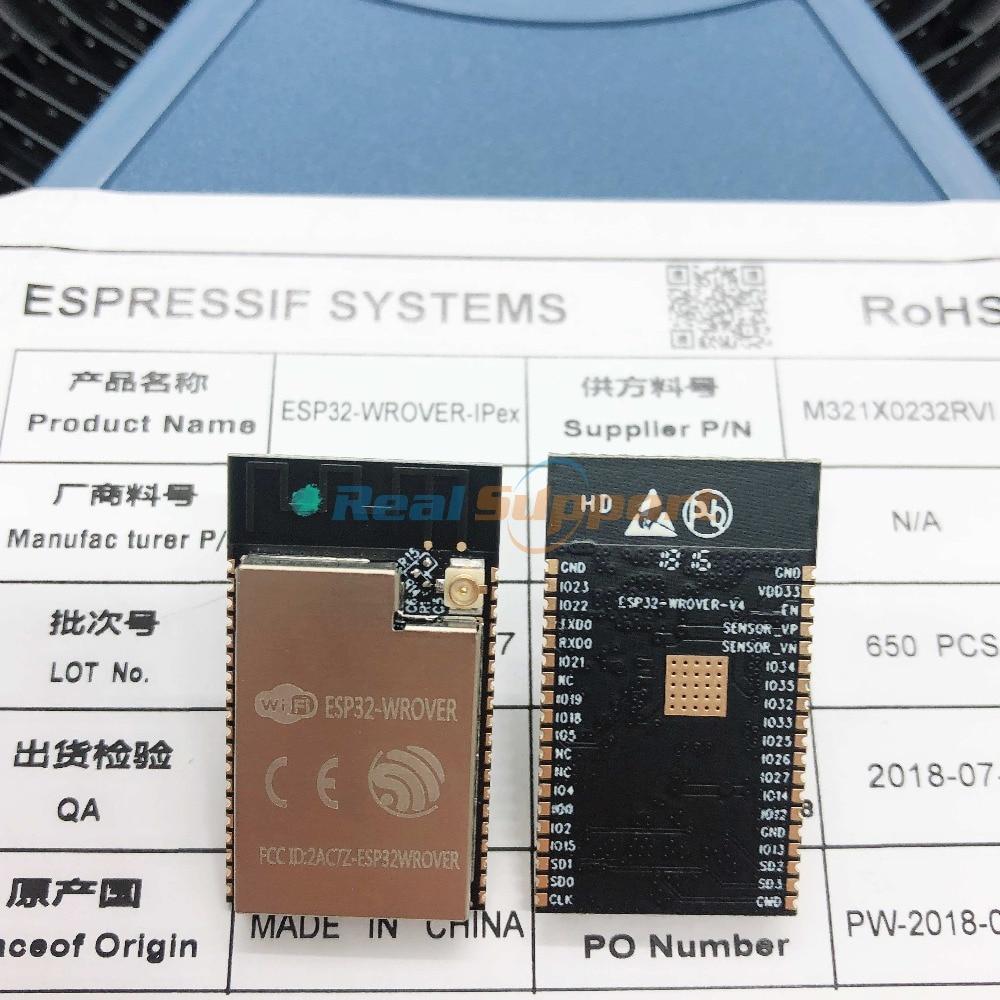 10pcs Esp32-wrover-i Wifi-bt-ble Mcu Esp32 Module 4mb Spi Flash 8mb Psram Ipex Antenna Espressif Original Discounts Price