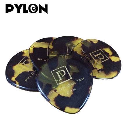 Pylon Guitar 1.2mm Jazz Speed Celluloid Pick Plectrum Mediator, made in Japan, 1/piece