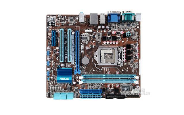 Frete grátis 100% original para motherboard P7H55-M LE H55 LGA 1156 DDR3 Desktop motherborad fonte de alimentação de estado Sólido