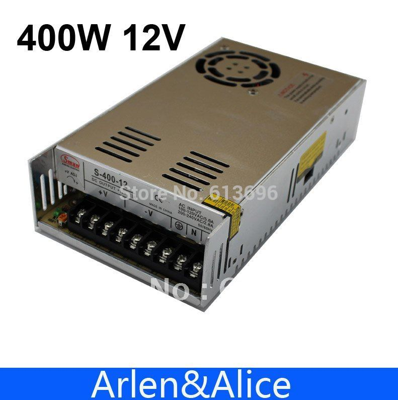 400W 12V 33A Single Output Switching power supply for LED SMPS AC to DC image