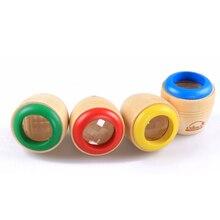Детские игрушки волшебный калейдоскоп деревянные детские Монтессори раннего образования головоломки подарки на день рождения