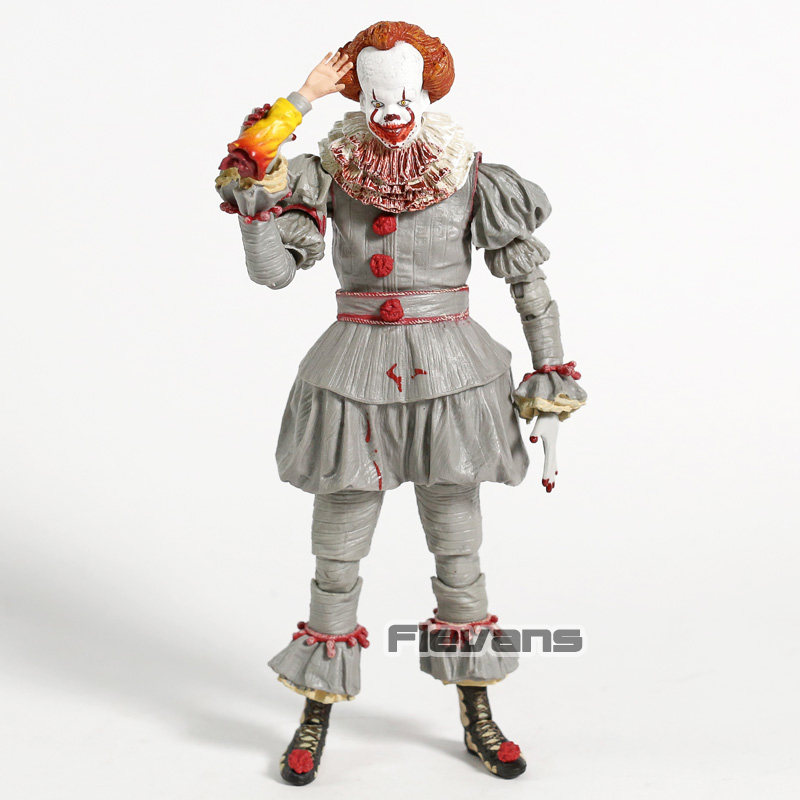 Stephen Kings It Clown Pennywise 3D Version Horror Doll Toy PVC Action Figure Collectible PVC Model FigurineStephen Kings It Clown Pennywise 3D Version Horror Doll Toy PVC Action Figure Collectible PVC Model Figurine