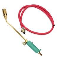 Handle Liquefied Gas Soldering Weld Blow Torch Lighter DIY Solder Gun Welding Tools With 145cm Hose