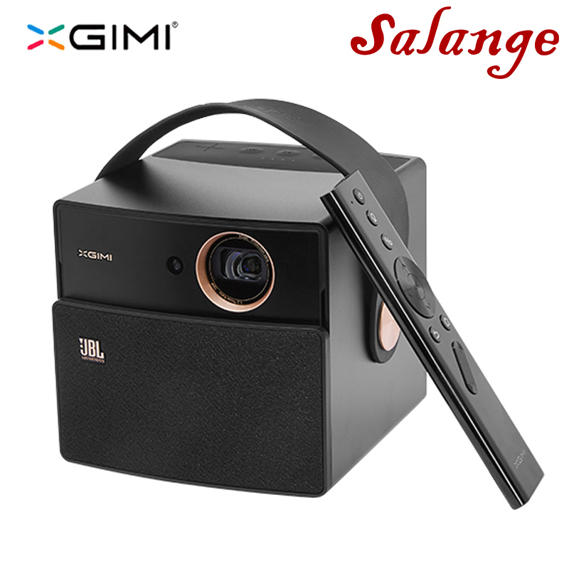 XGIMI CC Aurora Video proyector portátil Android Home Theater con batería compatible con Bluetooth Wifi 3D Full HD 1080 p Video Beamer