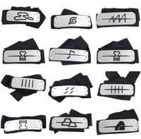 Naruto Kakashi Itachi akatsuki stirnband cosplay Requisiten Kostüme Zubehör spielzeug Requisiten Anime stirnband Requisiten Heißer