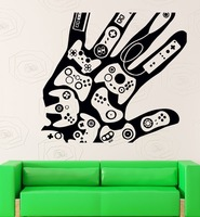 Wall Stickers Vinyl Decal Video Games Gamer Xbox Playstation Decor