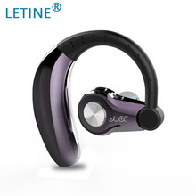 Letine 2019 Sport Earphone T9D Sport Bluetooth Headset Music Earbuds with Microphone Headphone for Driving Car Use(China)