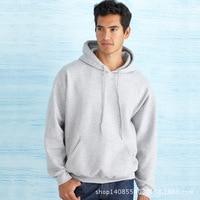 2018 Custom Logo Sweatshirt Hat Hoodies Men Jackets Men Sweatshirt Solid Mens Hoodies Casual Moleton Masculino Advertizing