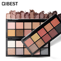 12color Nude EyeShadow Waterproof Lasting Pigment Women Eye Makeup Nude Smoky Palette Cosmetics