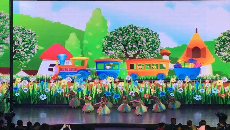 Платье для танцев сальсы с цветными цветами для девочек; пикантный современный танцевальный костюм для девочек; Одежда для танцев; детская одежда для соревнований