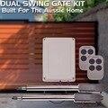 320kgs Dual Swing Operador de Puerta para la automatización del hogar, incluyendo el control remoto y el controlador/swing abridor de puerta/puerta de oscilación motor