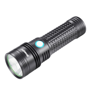 SKYWOLFEYE Flashlight LED Super Bright Lamp Camping Hiking Tactical High Power Self Flash Lighting Rechargeable USB Strobe Torch(China)