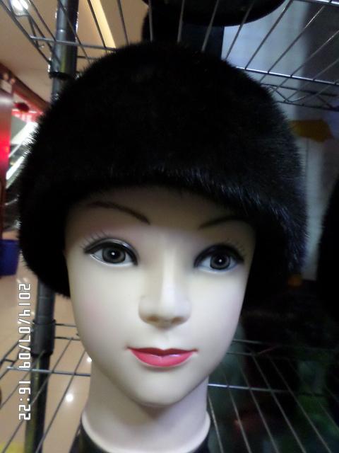 2014 toda la piel de visón de piel sombreros