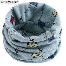 Модный хлопковый Детский шарф 40*20 см, весенне-осенне-зимние детские шарфы, Детские воротники для шеи, шарф с круглым вырезом для мальчиков и девочек, Bufanda