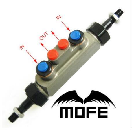 MOFE 0.7 pouce Piston de course dérive hydraulique frein à main Double pompe Tandem maître-cylindre pour Civic K8 SOHC D16 EK3 97 ~ 05
