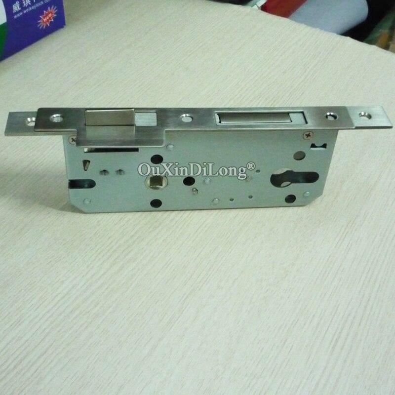 Brand New 10PCS European Mortise Door Lock Anti theft Door Lockbody 8550 85 50 Gate Room Mute Lock body Repair Parts in Locks from Home Improvement