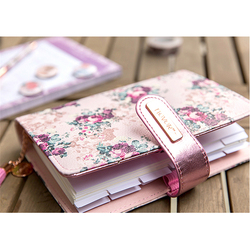 Stationery Rose Series Spiral Notebook 2018 Agenda Organizer A5 Planner Personal Diary Book Office&School Supplies