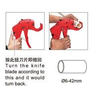 PC 305 Pvc Pipe Cutting Tool Machine For Plastic Pipes Diameter 6 42mm