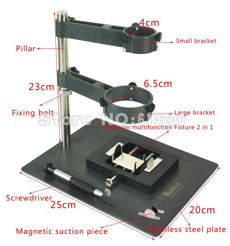 F-204 Hot Air Gun Holder/Clamp/Jig +BGA Rework Reballing Station Fixtures for Saike 909D 852D 952D ATTEN AT8586 860D 850D