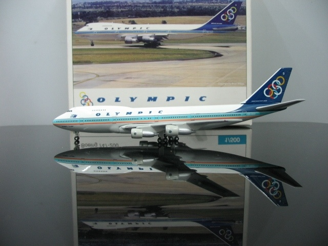 1 500 Olympic aviation SX OAD 747 200 Aircraft Model Airplane Model For Sale