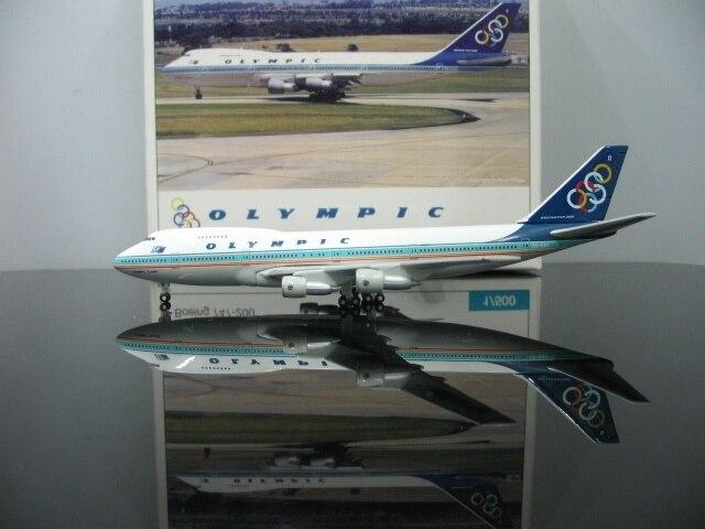 1:500 Olimpico SX OAD aviazione 747 200 Velivoli di Modello Dell'aeroplano di Modello In Vendita-in Macchinine in metallo e veicoli giocattolo da Giocattoli e hobby su  Gruppo 1