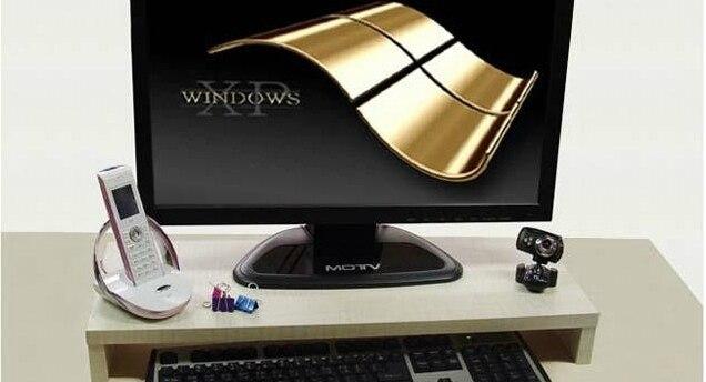 US $17.0 |auslage tastatur regalhalter tabelle schreibtisch computer  desktop anzeige hause verstecken in auslage tastatur regalhalter tabelle ...