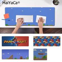 MaiYaCa Custom Skin mario  Rubber Mouse Durable Desktop Mousepad Free Shipping Large Pad Keyboards Mat