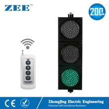 Remote Controlled 200mm LED Traffic Signal Light Wireless Controller LED Traffic Signs 220V 12V 24V traffic lights toy 24cm road signs children model scene simulation teaching child traffic light signal lamp toy live voice