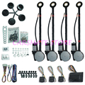Universal 4 Doors Electric Power Window Kits High Technology and Superior Quality DC 12V Japanese Motor Carsmate