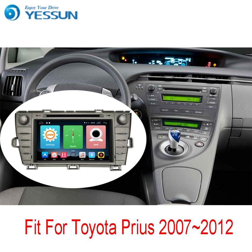Yessun Car Navigation GPS For Toyota Prius 2009~2013 HD Touch Screen Android Multimedia Stereo Player Audio Video Radio. yessun car navigation gps android for toyota camry 2012 2017 audio video hd touch screen stereo multimedia player no cd dvd