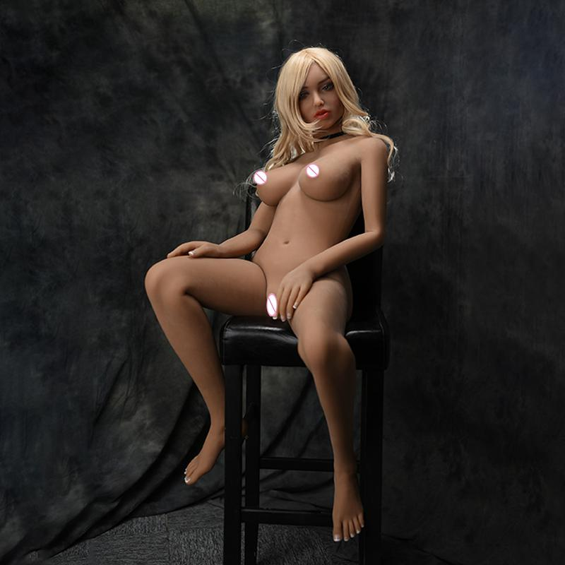 Full Size Real Sex Dolls Silicone Love Doll with Skeleton For Male masturbation supplies Adult Products Lifelike real Sex dolls in Sex Dolls from Beauty Health