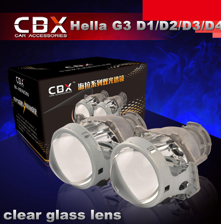 Hotsale LHD Bi xenon Projector Lens HELLA G3 for D1S D2S D2H D3S D4S Bulb Socket